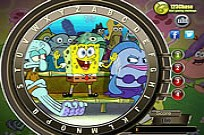 Play Spongebob Squarepants Hidden Alphabets game