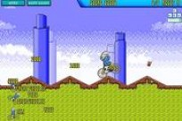 Play Smurf BMX game