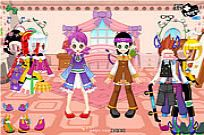 jugar Cute Kids Dress Up juego
