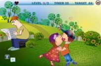 Play Childrens Park Kiss game