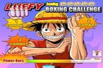 Luffy Boxing Challenge Game