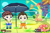 Play Anime Kids Dress Up game