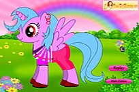 Play New Little Pony Dress Up game