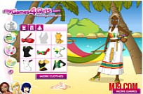 Play Jamaica Dress Up game