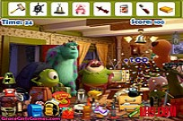 Play Monster University Hidden Objects game
