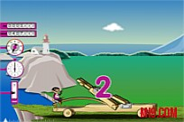 Play Mr Bean Fly Sky game