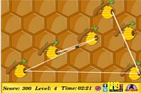Play Bee Path Memory game