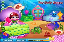 Play Mermaid Lola Baby Care game