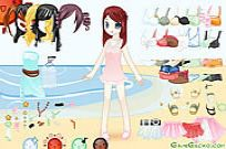 Play Dress Up Doll 5 game