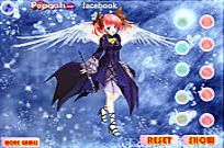 Play Music Angel Dress Up game