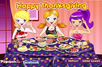 Play Decorate Thanksgiving Dinner game
