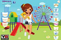 spielen Riesenrad Park Dress Up Spiel
