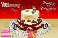 Play Yummy Christmas Cake Decor game