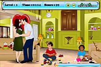 Play Angelina And Brad Kissing game