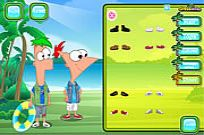 spielen Phineas And Ferb Dress Up Spiel