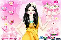 Play Glamorous Wedding Bride game