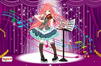 Play Violin Girl Dress Up game