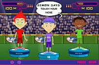 Play Simon Says game