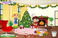Play Clean Up For Santa game