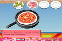 Play Delicious Pizza Cooking game