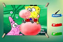 Play Spongebob And Patrick Coloring Game game