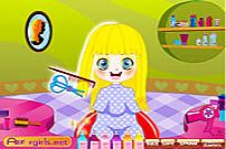 Play Little Cutie Hairdo game