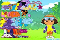 Play Dora The Explorer Dress Up game