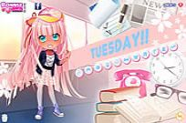 Play Tuesday Dress Up game