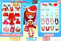 Play Color Girls Christmas Shopping game