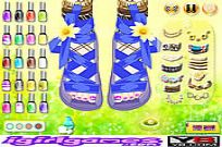 Play Foot Fashion Show game