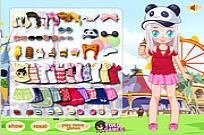 Play Fun Fair Day Dress Up game