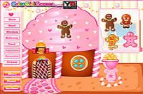 Play Christmas Gingerbread House game