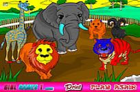 Play Zoo Coloring Game game