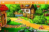 Play Tarantula Village Farm House Hidden Alphabets game