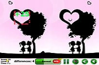Play Icy Heart 5 Differences game