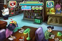 Play Kiss In A Library game