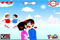 Play Christmas Love Kiss game