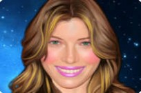 Play Jessica Biel Makeover game