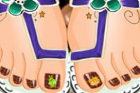 Play Fancy Foot Pedicure game
