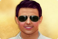 Play Tom Cruise Celebrity Makeover game