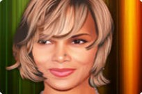 Play Halley Berry Celebrity Makeover game