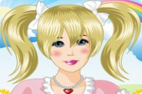 Play Cutie Pie Girl Makeover game