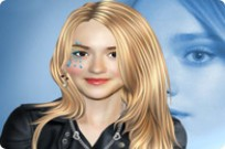 Play Dakota Fanning Makeover game