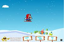 Play Mario Ice Skating game