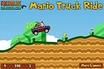 Play Mario Truck Ride game