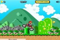Play Mario Xtreme Bike game