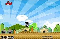 Play Mario Plane Bomber game
