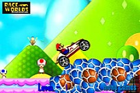 Play Mario Stunt Car game