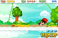 Play Mario Jungle Jumping game