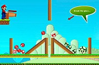 Play Mario Mushrooms game